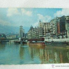 Postales: POSTAL VIZCAYA - BILBAO - MUELLE DE RIPA - SIN CIRCULAR - 1960. Lote 39708136