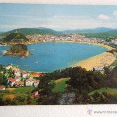 Postales: POSTAL GUIPUZCOA - SAN SEBASTIAN - VISTA GENERAL DESDE EL MONTE IGUELDO - 1968 - CIRCULADA. Lote 39879222