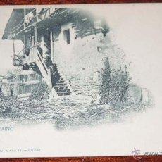 Postales: ANTIGUA DE BILBAO - CASERIO VIZCAINO - LANDABURU HERMANAS - NO CIRCULADA - SIN DIVIDIR - ED. HAUSER . Lote 40115170