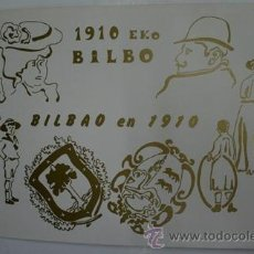 Postales - Antiguas postales. Block de 12. 1910 EKO BILBO. BILBAO EN 1910 - 40131429