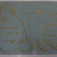 Postales - Antiguas postales. BLock de 12. BILBOKO METROA. METRO DE BILBAO. 1991 - 40143467