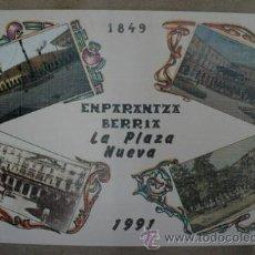 Postales - Antiguas postales. BLock de 12. EMPARANTZA BERRIA. LA PLAZA NUEVA. BILBAO. 1991 - 40143474