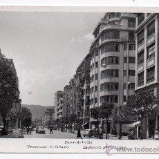 Postales: IRÚN. PASEO DE COLÓN. AÑO 1958.. Lote 40167132