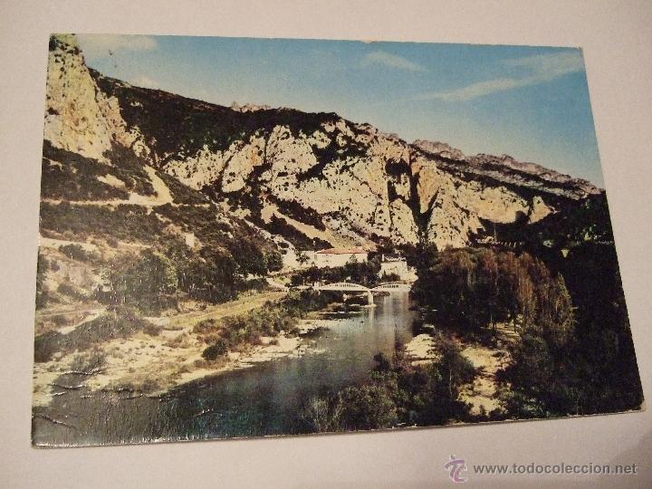 POSTAL ALAVA - SOBRON - RESIDENCIA LUIS FERNANDO ORIOL - EDUCACION Y DESCANSO - 1965 - CIRCULADA - (Postales - España - País Vasco Moderna (desde 1940))
