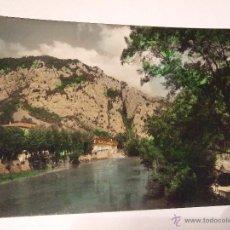 Postales: POSTAL SOBRON - VISTA PARCIAL - AL FONDO RESIDENCIA Y PEÑA LUSO - SIN CIRCULAR - SICILIA 8. Lote 40203577