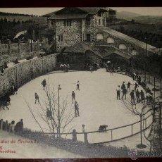 Postkarten - ANTIGUA POSTAL DE BILBAO - N.13 - FUNICULAR DE ARCHANDA, PISTA DE PATINAJE - ED. L. ROISIN - NO CIRC - 39585645