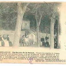 Postales: SAN SEBASTIAN LA FUENTE DE LA SALUD. FOTOTIPIA VIUDA DE LABORDE, FOTO OTERO. REVERSO SIN DIVIDIR. Lote 40487560