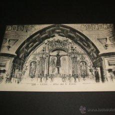 Postales: LEZO GUIPUZCOA ALTAR DEL SANTO CRISTO. Lote 40524403