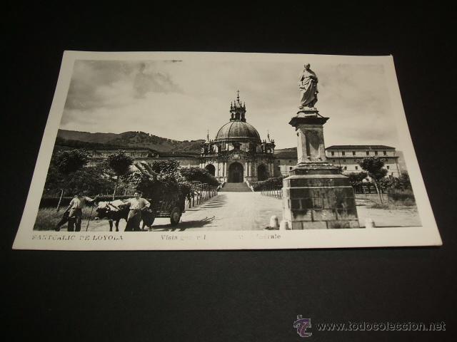 LOYOLA GUIPUZCOA VISTA GENERAL (Postales - España - Pais Vasco Antigua (hasta 1939))