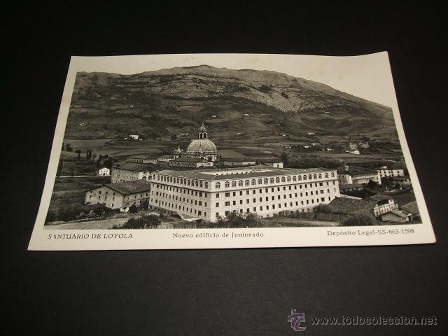 LOYOLA GUIPUZCOA NUEVO EDIFICIO DE JUNIORADO (Postales - España - Pais Vasco Antigua (hasta 1939))