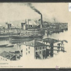 Postales: BILBAO - 73 - EL DESIERTO - REVERSO SIN DIVIDIR - HERMANAS LANDABURU - (18581). Lote 40871952