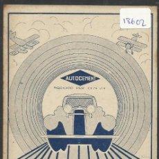 Postales: BILBAO - POSTAL PUBLICITARIA AUTOCEMENT CASA VIX - VER REVERSO - (18602). Lote 40872558