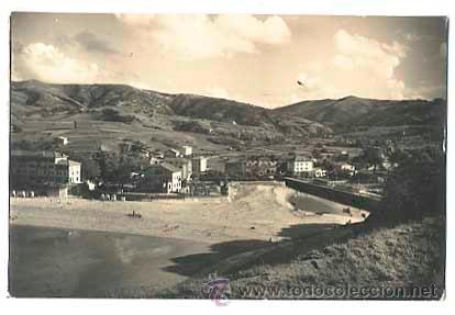 VIZCAYA BAQUIO PLAYA VISTA PARCIAL. ED. MAITE. CIRCULADA (Postales - España - País Vasco Moderna (desde 1940))