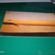 Postales: POSTAL PUESTA DE SOL EN SANTURCE (VIZCAYA). AÑOS 60. Lote 40976794