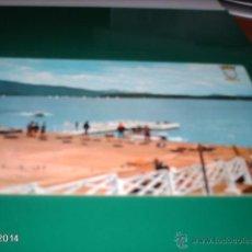 Postales: POSTAL EMBARCADERO CLUB NAUTICO DE VITORIA. AÑOS 60. Lote 40977002