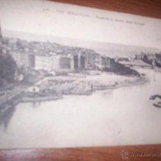 Postales: SAN SEBASTIAN - ENSANCHE DE AMARA DESDE ERRONDO - POSTAL ANTIGUA. Lote 41053222