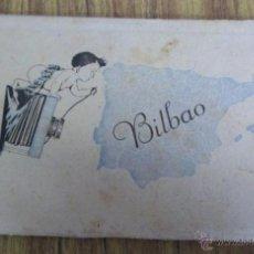 Postales: ACORDEÓN DE 10 POSTALES - BILBAO DANIEL ARBONÉS VILLACAMPA - EDICIONES DARVI ZARAGOZA . Lote 41193310