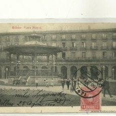 Postales: BILBAO (VIZCAYA).- PLAZA NUEVA.. Lote 41199267