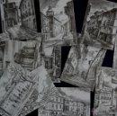 Postales: 12 POSTALES DIFERENTES ILUSTRADAS POR LOPEZ DE GEREÑU DE VITORIA. FOURNIER. POSTAL. Lote 41538502