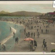 Postales: FUENTERRABIA - 23 - VISTA GENERAL DE LA PLAYA - FOTO GALARZA - (19518). Lote 41691240