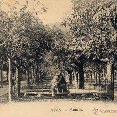 Postales: DEVA (GUIPUZCOA).- ALAMEDA. Lote 41721119