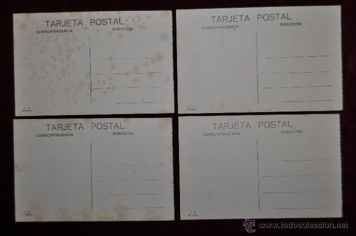 Postales: LOTE DE 4 POSTALES ANTIGUAS DE ALGORTA (GETXO). PAIS VASCO. DIFERENTES VISTAS - Foto 4 - 41873259