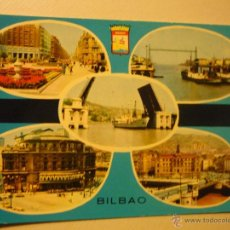 Postales: POSTAL BILBAO.-VARIAS VISTAS-ESCRITA.-. Lote 41980718