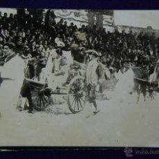 Postales: FOTOGRAFIA ORIGINAL DE LA CORRIDA GOYESCA CELEBRADA EN ORDUÑA (VIZCAYA). AÑOS 20.. Lote 42185805