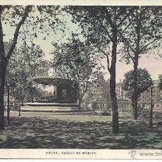 Postales: PS4088 BILBAO 'ARENAL KIOSCO DE MÚSICA'. L. ROISIN. CIRCULADA EN 1931. Lote 42385775