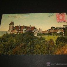Postales: SAN SEBASTIAN GUIPUZCOA PALACIO REAL ED. TRENKLER CO LEIPZIG. Lote 42464921