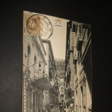 Postales: SAN SEBASTIAN GUIPUZCOA CALLE MAYOR J. LATIEULE EDITOR. Lote 42464944