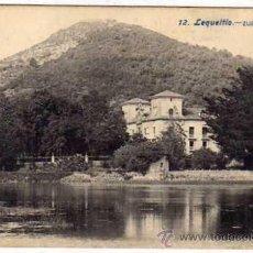 Postales: LEQUEITIO. 12 ZUBIETA. FOT LACOSTE. REVERSO DIVIDIDO. SIN CIRCULAR.. Lote 42500795
