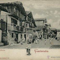 Postales: BARRIO DE LA MARINA. FUENTERRABIA.. Lote 42522250