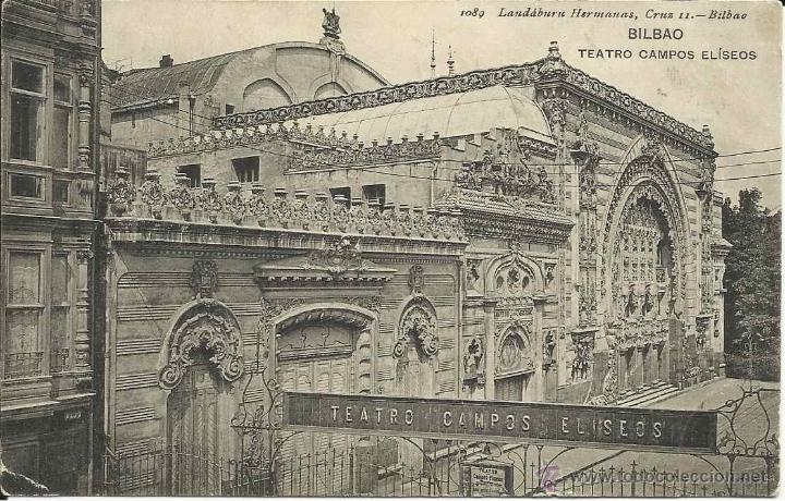 Postal bilbao vizcaya teatro campos el seos cir comprar - Teatro campos elisios ...