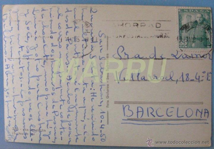 Postales: San Sebastián. Efectos del Sol Nº 256 - Galarza - Foto 2 - 32604264