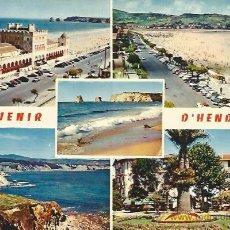 Postales: ** D1353 - POSTAL - SOUVENIR D´HENDAYE. Lote 42750166
