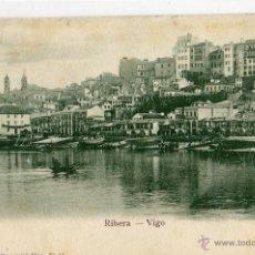 Postales: POSTAL ANTIGUA -VIGO-RIBERA. Lote 42781634