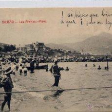 Postkarten - BILBAO.-LAS ARENAS- PLAYA - 42825554