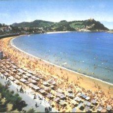 Postales: SAN SEBASTIAN - PLAYA DE LA CONCHA. Lote 42832960