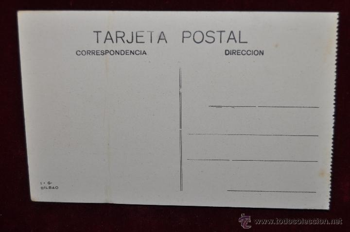 Postales: ANTIGUA POSTAL DE VIZCAYA. LA ISLA DE CHACHARRAMENDI. SIN CIRCULAR - Foto 2 - 42926456