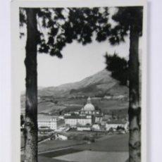 Postales: POSTAL CIRCULADA SANTUARIO LOYOLA VISTA GENERAL SELLO 80 CTS FRANCO SAN SEBASTIAN FRANCIA 1957. Lote 42954159