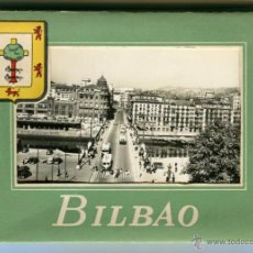 Postales: BILBAO ACORDEON CON 10 POSTALES DIVIDIDAS POSTAL MADRID FOT. ALFONSO FISA Nº1 EXCELENTES. Lote 42965467