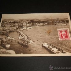 Postales: SAN SEBASTIAN VISTA GENERAL DEL PUERTO. Lote 42980323
