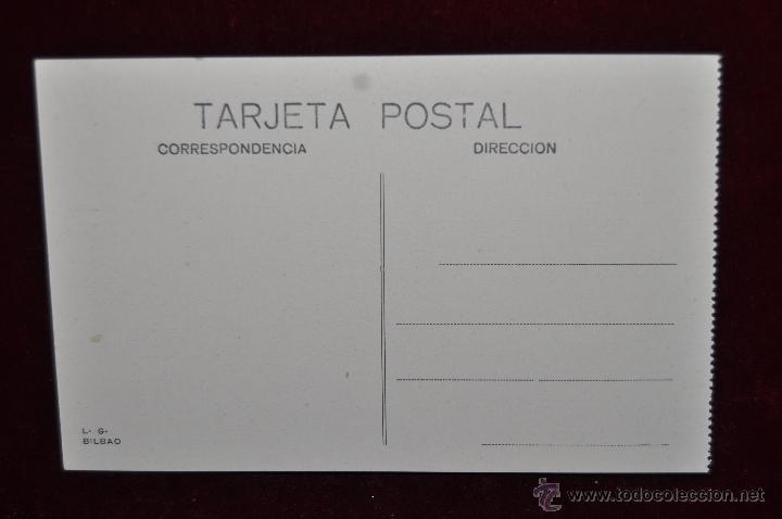Postales: ANTIGUA POSTAL DE BILBAO. PUENTE DE HIERRO. SIN CIRCULAR - Foto 2 - 43005777