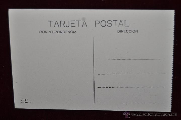 Postales: ANTIGUA POSTAL DE BILBAO. PUENTE GIRATORIO Y AYUNTAMIENTO. SIN CIRCULAR - Foto 2 - 43005857