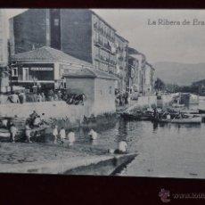 Postales: ANTIGUA POSTAL LA RIBERA DE ERANDIO. VIZCAYA. SIN CIRCULAR. Lote 43007019