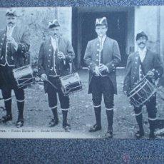 Postales: IRÚN GUIPUZCOA BANDA CHISTULARI POSTAL ANTERIOR A 1905. Lote 43030247