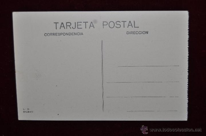 Postales: ANTIGUA POSTAL DE BILBAO. PLAZA ELIPTICA. SIN CIRCULAR - Foto 2 - 43047848