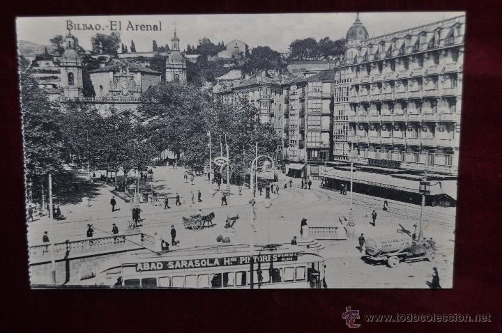 ANTIGUA POSTAL DE BILBAO. EL ARENAL. SIN CIRCULAR (Postales - España - Pais Vasco Antigua (hasta 1939))