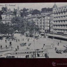Postales: ANTIGUA POSTAL DE BILBAO. EL ARENAL. SIN CIRCULAR. Lote 43047885